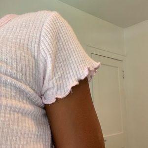 Light pink top!